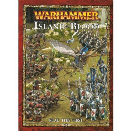 Warhammer The Island of Blood Read this First (2010)